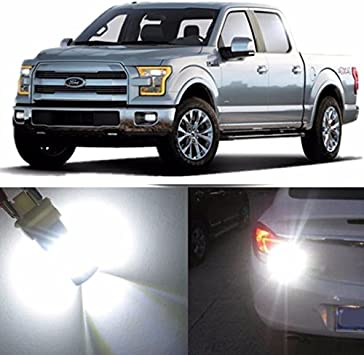 Amazon Com Alla Lighting 2pcs Super Bright 3156k 3156 3157 White Led Light Bulbs Back Up Reverse Light Lamps For 1994 2007 2015 17 Ford F150 F250 F350 F450 F550 1999 2008 F 250 F 350 F 450 F 550 Super Duty Automotive