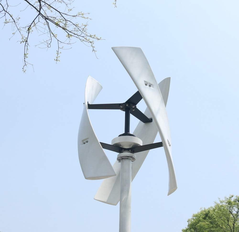 NAWS 300w / 500w generador de turbina de energía eólica CE Maglev de Alta eficiencia silencioso Eje Vertical Windmil Solar Wind Hybird System