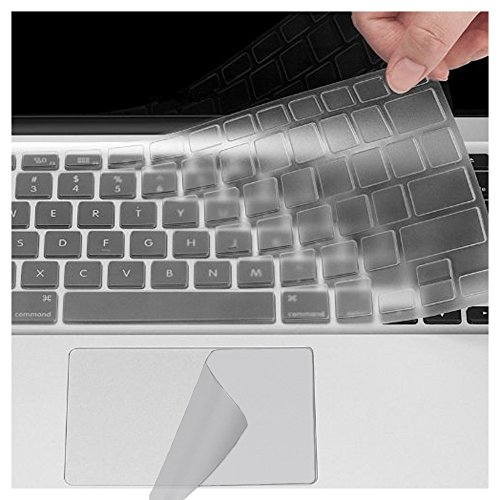 Se7enline MacBook Track Pad Protector, Keyboard Cover 2in1 f