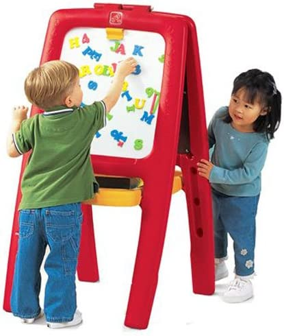 Kids Table And Stool Set Easel Drawing Desk Childrens Play Art Fun Craft Kit Toy