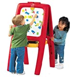 Toys : Step2  Easel For Two with Bonus Magnetic Letters/Numbers