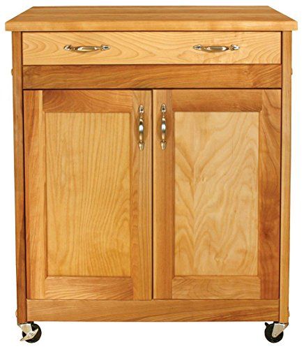 Catskill Craftsmen Kitchen Kitchen Cart - Catskill Craftsmen Designer Island with Flat Panel Doors