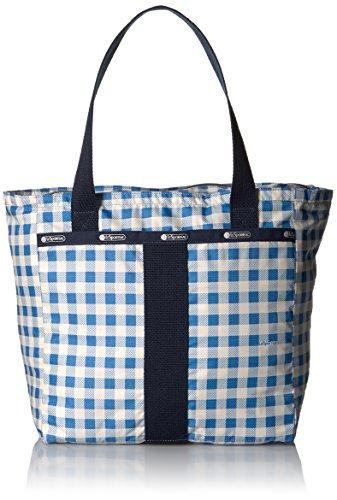 LeSportsac Small Everyday Tote, Gingham Dive - Gingham Plaid Tote