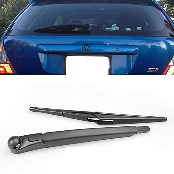 True-Ying Brazo de limpiaparabrisas Trasero + escobilla para limpiaparabrisas Honda Civic Hatchback 03 05: Amazon.es: Coche y moto