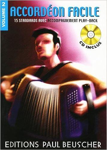 Partition : Accordeon facile volume 2 + CD