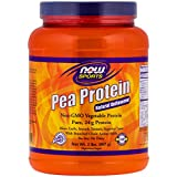 Cheap Now Foods Pea Protein Unflavored (2 Pack)