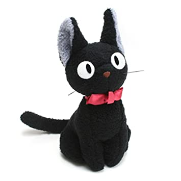 "Kikis Delivery Service 5.5"" Tall Kikis Black Cat Jiji Stuffed ..."