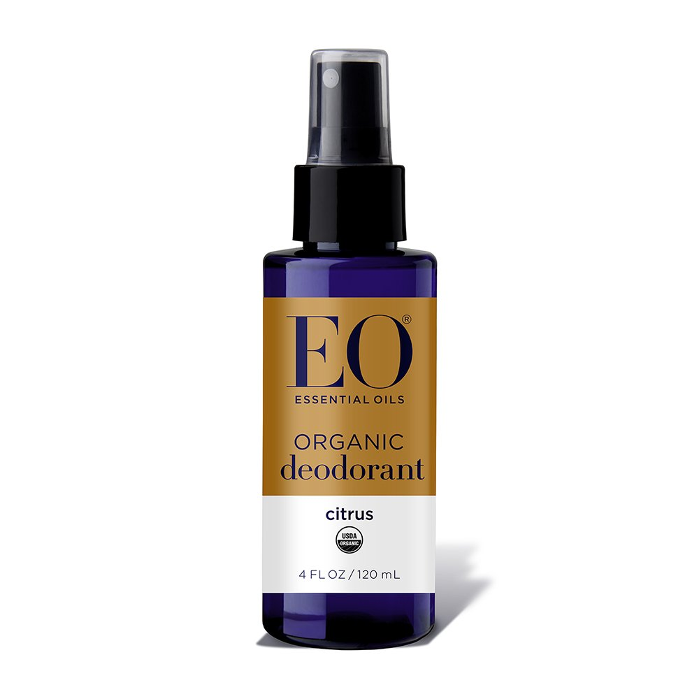 Organic Deodorant Spray, Citrus 4 OZ by EO Products 040813