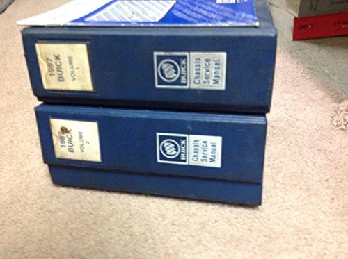 1987 Buick Grand National Riviera ALL MODELS Service Shop Repair Manual Set ()