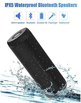 DZSF Altavoces Bluetooth Inalámbrico Mejor Altavoz portátil a ...