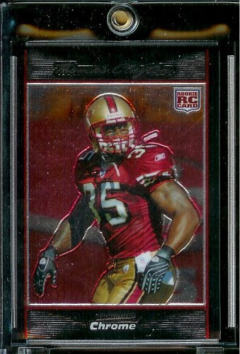 2007 Bowman Chrome #20 Thomas Clayton (RC) - San Francisco 49ers - NFL Trading Football Rookie Card