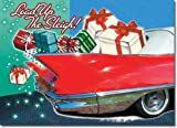 Classic Car Christmas Cards, Package of 8