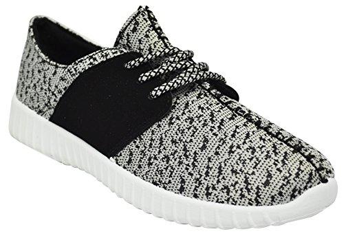 Sneakers In Bambù Da Donna Tilt-01s Grigio Bianco