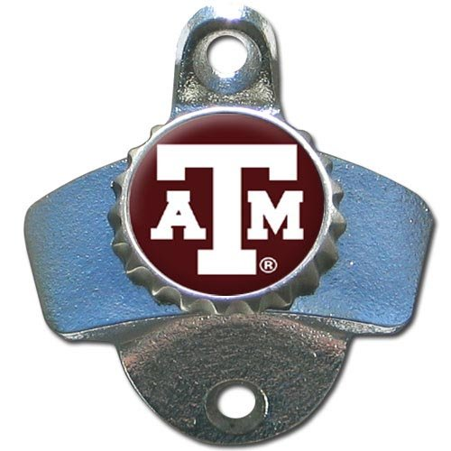 NCAA Texas A&M Aggies Wall Bottle Opener (Bottle Aggies M)