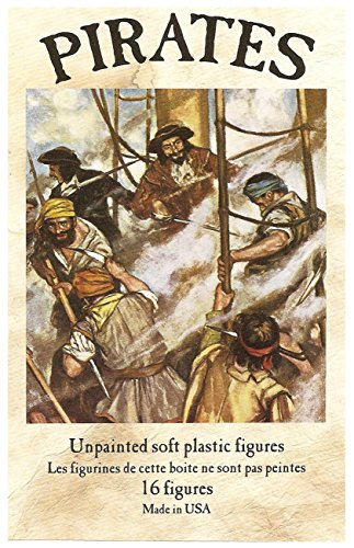 Classic Pirates: 16 piece set of 54mm Plastic Army for sale  Delivered anywhere in USA