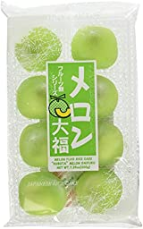 Japanese Fruits Daifuku (Rice Cake)-Melon Flavor
