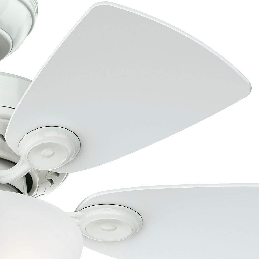 Hunter 34 Watson Snow White Ceiling Fan with Light
