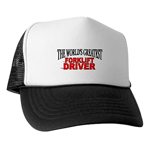 4925aaaeb05 Image Unavailable. Image not available for. Color  CafePress -  quot The  World s Greatest Forklift Driver Trucker Hat ...