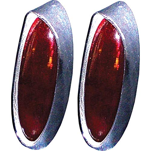 (Eckler's Premier Quality Products 80-256590 Chevy Custom Taillight Lenses, One-Piece,)