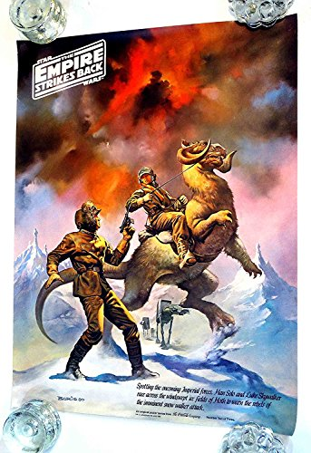 Star Wars Empire Strikes Back 1980 Boris Vallejo Coca Cola Premium Poster #2 (Star Cola Coca Trek Poster)