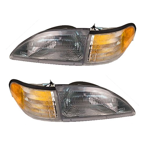 Ford Mustang Headlight Assembly - 2