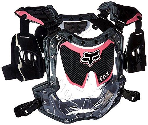 - Fox Racing R3 Women's Roost Deflector MotoX Motorcycle Body Armor - Black/Pink / Small/Medium