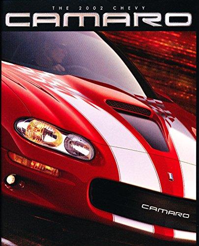 Diecast Catalog - 2002 Chevrolet Camaro and Z28 40-page Original Car Sales Brochure Catalog - SS