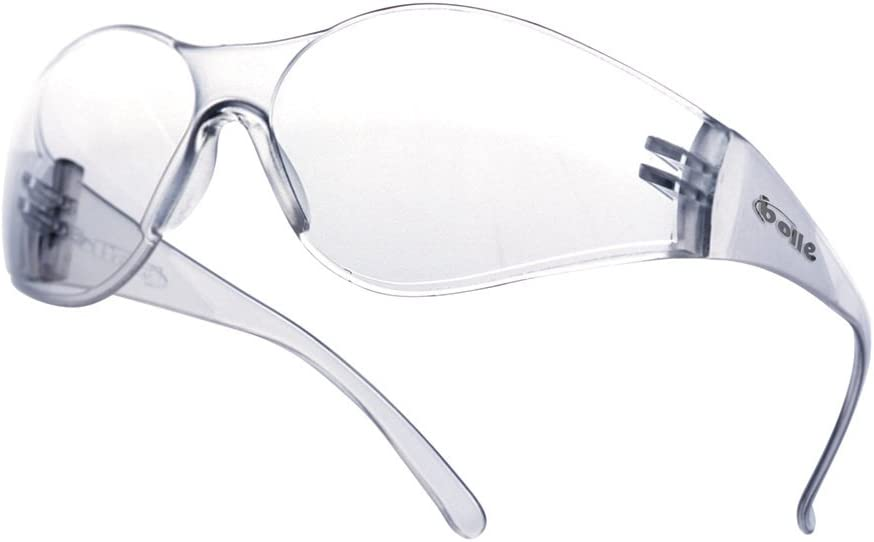 UV Eye Protection Clear anti fog Bolle RUSH+ Safety Glasses RUSHPPSI