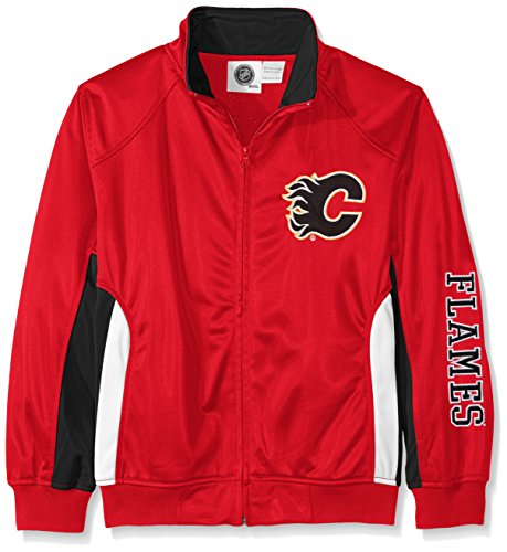 NHL Calgary Flames Tricot Track Jacket with