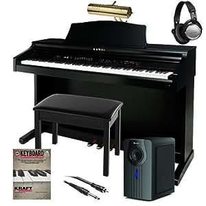kawai ce220 digital piano complete home bundle plus 6 items musical instruments. Black Bedroom Furniture Sets. Home Design Ideas