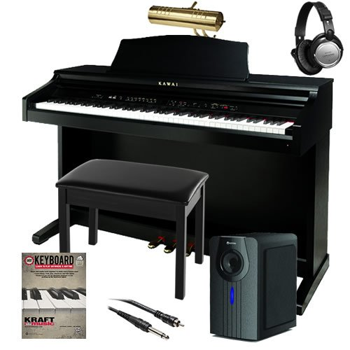 Kawai CE220 Digital Piano COMPLETE HOME BUNDLE PLUS - 6 Item