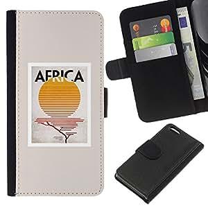 All Phone Most Case / Oferta Especial Cáscara Funda de cuero Monedero Cubierta de proteccion Caso / Wallet Case for Apple Iphone 5C // Sign Sun Poster Minimalist Beige