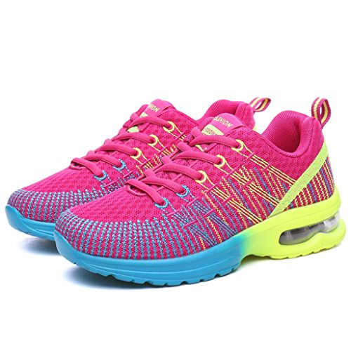Breathable Comfortable Jamicy Sport Shoes Hot Pink Running Sneakers Fashion Shoes Sneakers Athletic Women AqtcIc1R