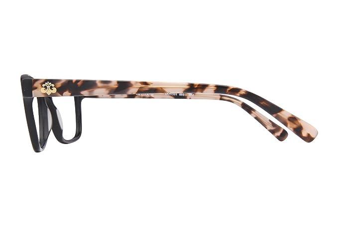 6a7b4335ba Dereon DOV531 Women s Eyeglass Frames - Black at Amazon Women s Clothing  store