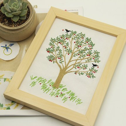 Tree Embroidery - 6