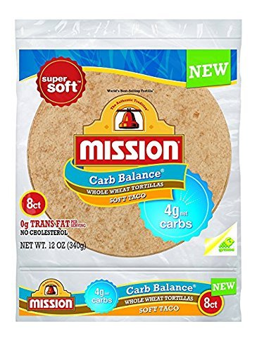 Dinner Balance (Mission Foods Carb Balance Whole Wheat Soft Taco, 8 ct - 0g Trans Fat per serving)