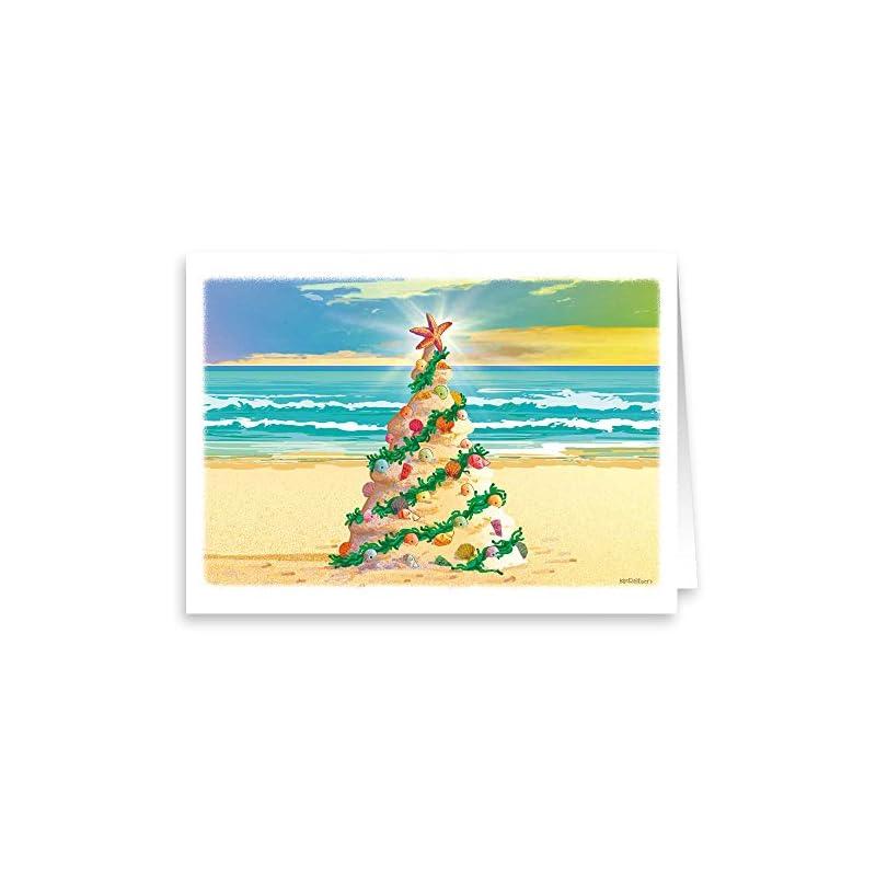 Shirley Bell Sperm Whale Christmas Cards, 10 - Beachfront Decor
