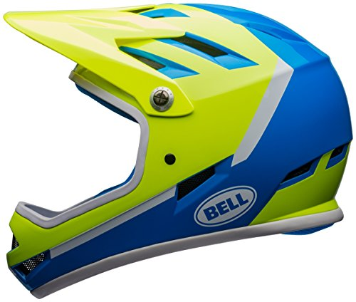 Bell Sanction Bike Helmet - Force Blue/Retina Sear - Bell Full Helmet