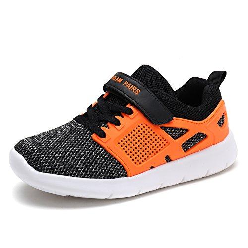 DREAM PAIRS Toddler 170946_K Black Orange Fashion Running Shoes Sneakers Size 9 M US Toddler -