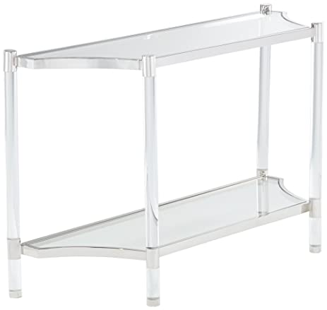 Erica 48u0026quot; Wide Clear Acrylic Console Table