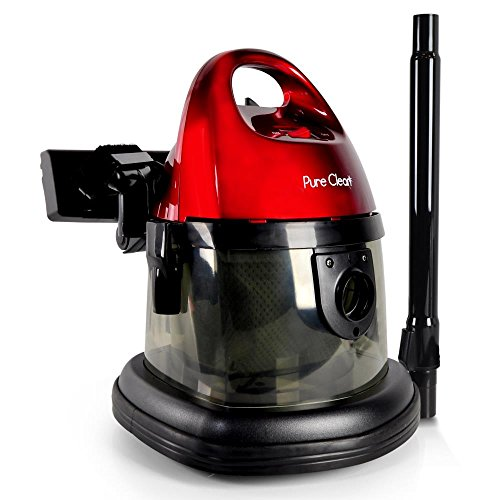 Pure Clean Compact Wet Dry Vacuum | Multi-Surface Bag-Less Vacuum Cleaner – Corded Vac (PUCVC29)