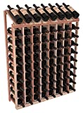 Wine Racks America Redwood 8 Column 10 Row Display Top Kit. 13 Stains to Choose From!