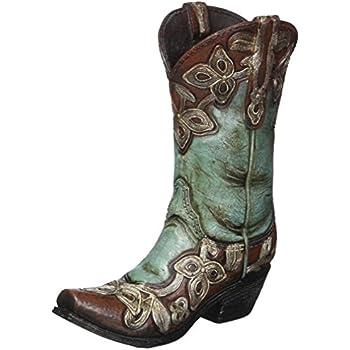 Amazon Com Accents Amp Occasions Ceramic Cowboy Boot