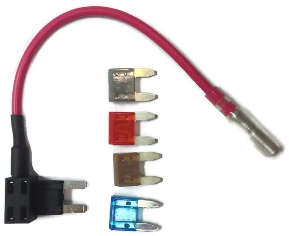 5A 7.5A 10A 15A Auto Car Add a Circuit//Add a Fuse Mini Low Profile ATM TAP Fu