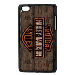 iPod Touch 4 Case Black Harley Davidson A4IH