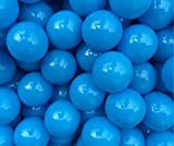 Justfund 100pcs All Blue Soft Plastic Ocean Balls BPA Free Crush Proof Plastic Ball Baby Kid Toys Swim Pit Toys Ball for Ball Pit Baby Kids Tent