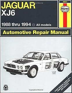 jaguar xj6 workshop manual owners edition 1986 1994 brooklands rh amazon com 1999 Jaguar 1999 Jaguar