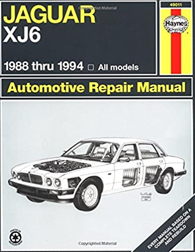 jaguar xj6 88 94 haynes repair manuals mike stubblefield john h rh amazon com 1989 Jaguar XJ6 1988 jaguar xj6 repair manual