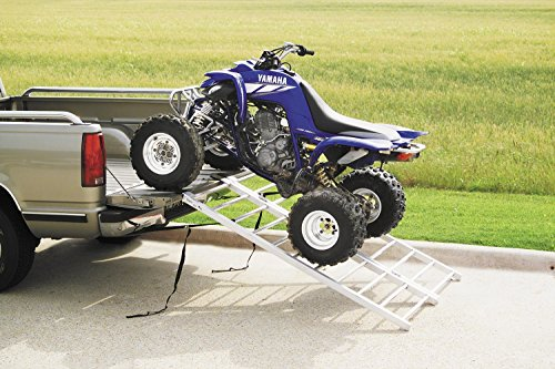 QuadBoss Extra Wide Aluminum Bi-Fold Ramps - Quadboss Bi Fold Ramps