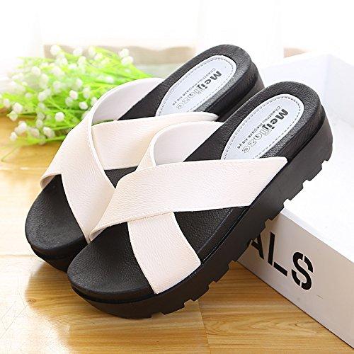 comoda blanco altura Zapatillas 38 New casa blanco 2017 37 Cross Zapatos gqTWt
